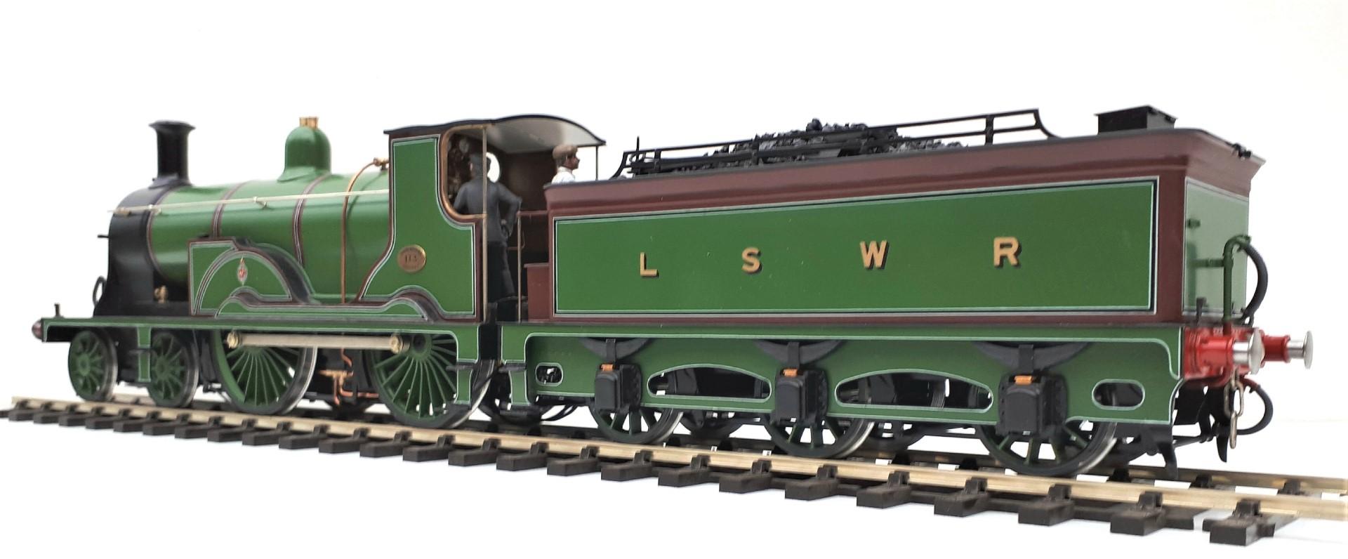 LSWR Greyhound no. 113