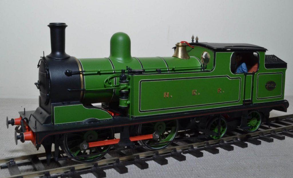 NER Worsdell O class (LNER G5 class) 0-4-4T no. 2081