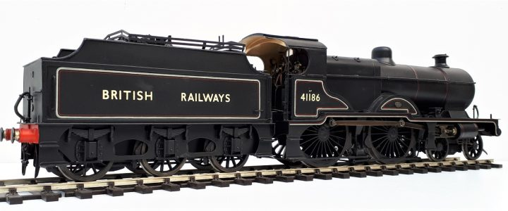 BR(LM) 4P class Deeley/Fowler Midland Compound no.41186