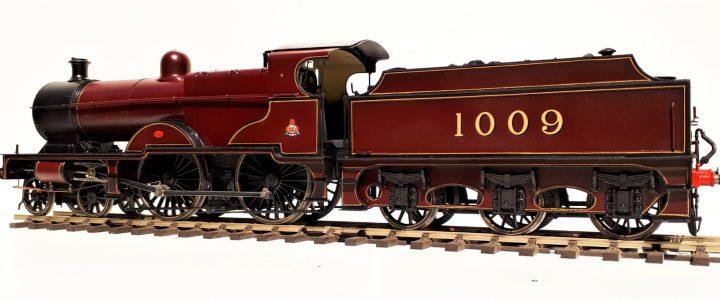 Midland Railway class 4 Compound 4-4-0 no. 1009