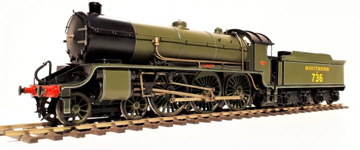 Southern Railway (ex LSWR) N15 class 4-6-0 no. E736 Excalibur