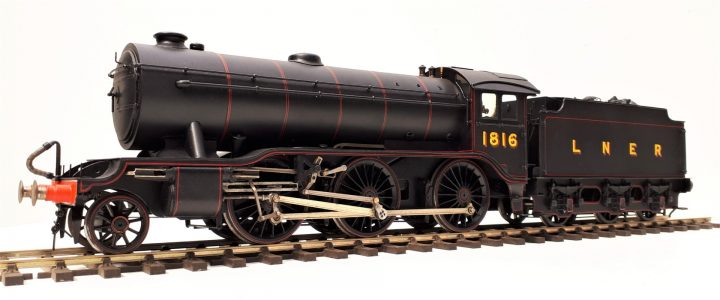 LNER Gresley K3 class 2-6-0 no. 1816