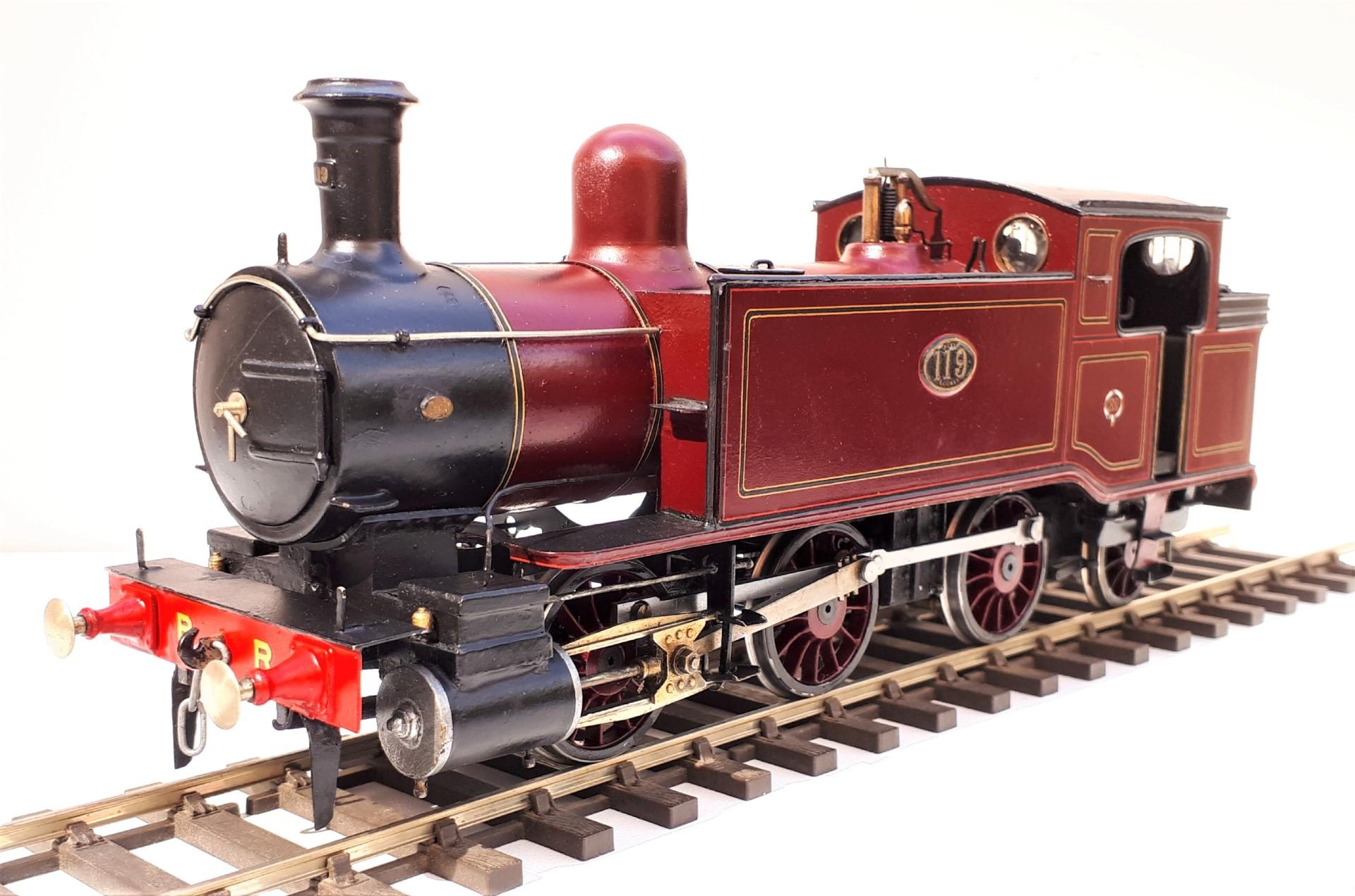 "Barry Railway ""K"" class 0-6-2T no, 119"