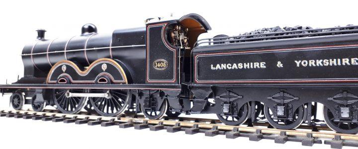 Lancashire & Yorkshire Railway Aspinal Highflyer 4-4-2 no. 1405