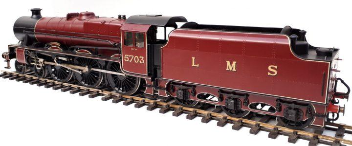 LMS Stanier Jubilee class 4-6-0 no. 5703 Thunderer