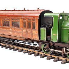 Great Northern Steam railmotor no.1