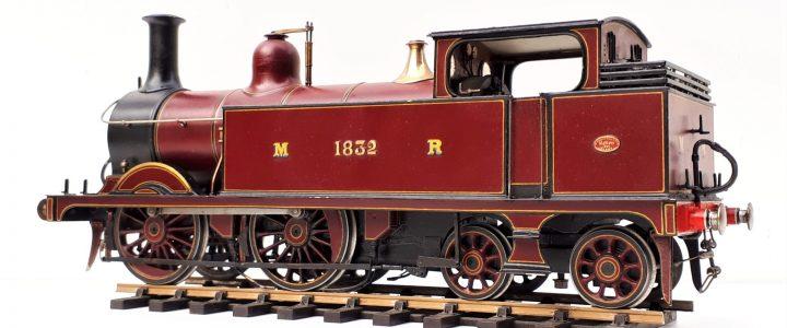 Midland Railway 0-4-4T passenger tank no. 1832