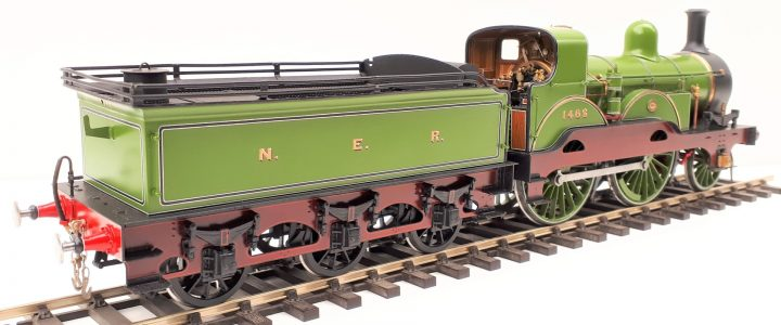 North Eastern Railway Tennant 2-4-0 no. 1463