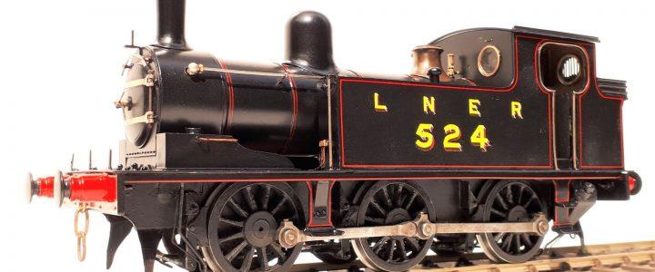 LNER (ex NER) J72 class 0-6-0T no. 524