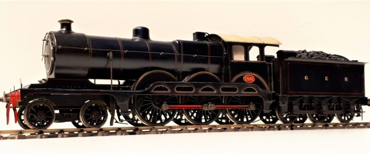 Great Eastern Railway Holden 4-6-0 no. 1501